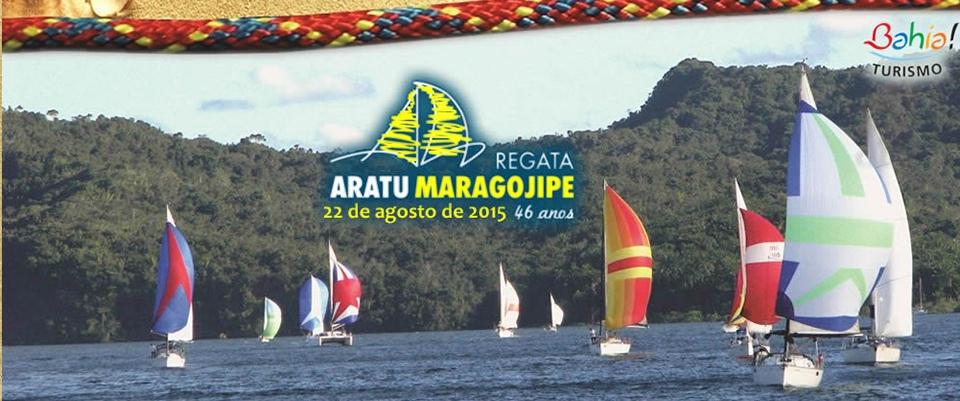 Regata Aratu Maragojipe 2015 - Dia 22 de Agosto.